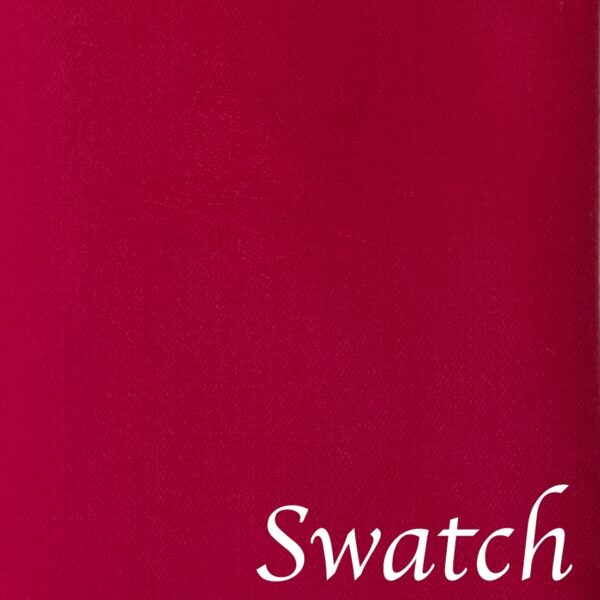 Sweet Pea Linens - Solid Red Rolled Hem Jacquard Cloth Napkin (SKU#: R-1010-Y4) - Swatch