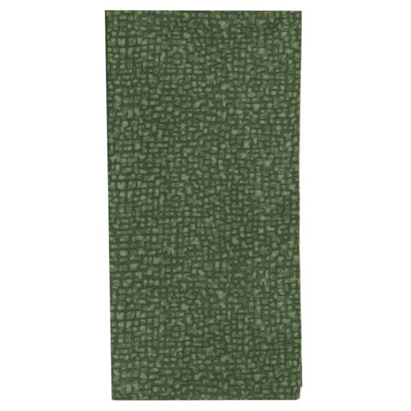 Sweet Pea Linens - Green Cobblestone Rolled Hem Cloth Napkin (SKU#: R-1010-Y50) - Product Image