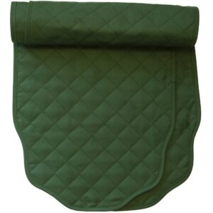 Sweet Pea Linens - Solid Green Quilted Jacquard 72 inch Table Runner (SKU#: R-1024-Y5) - Product Image