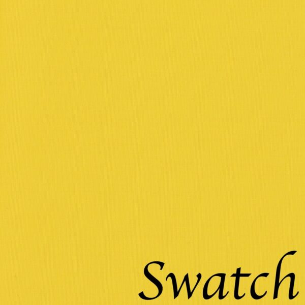 Sweet Pea Linens - Solid Bright Yellow Rolled Hem Cloth Napkin (SKU#: R-1010-Y8) - Swatch
