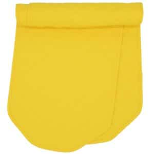 Sweet Pea Linens - Solid Bright Yellow Quilted 60 inch Table Runner (SKU#: R-1021-Y8) - Product Image