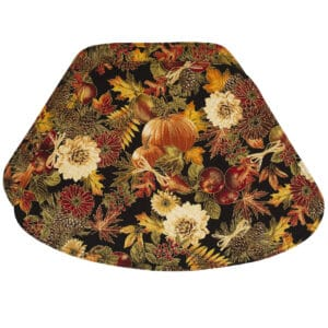 Sweet Pea Linens - Fall Harvest Leaf Print Wedge-Shaped Placemats - Set of Two (SKU#: RS2-1006-Z4) - Product Image